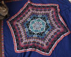 double knit blanket - reversible