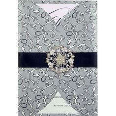 Rounded gatefold wedding invitations with a large bling embellishment Available … – The Best Ideas Wedding Songs, Wedding Wishes, Wedding Speeches, Wedding Cars, Wedding Veils, Red Wedding, Garden Wedding, Elegant Wedding, Wedding Table