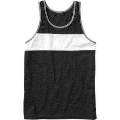 Old Navy Mens Color Blocked Tank Top ($10) ❤ liked on Polyvore featuring mens, men's clothing, men's shirts, men's tank tops, tops, men, shirts and guy clothes