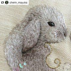 Stitchgasm Cherin_Mayukas Silk Shaded Bunny
