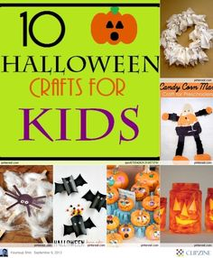So cool Halloween crafts for Kids. Little pumpkins and sharpies for each kid.