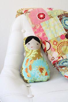 matryoshka nesting doll in nursery.