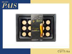 Bombons da Cacau Show, para um pai que ama chocolate, mas não deixa de lado uma cerveja!