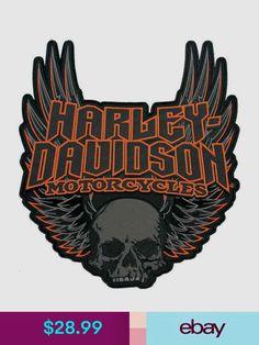 Harley-Davidson® Gothic Wings Emblem, Size W x H. Manufacturer Part Number: Harley-Davidson® Gothic Wings Emblem. Harley Davidson Patches, Harley Davidson Images, Harley Davidson Tattoos, Harley Davidson Posters, Harley Davidson Fatboy, Vintage Harley Davidson, Harley Davidson Motorcycles, Harley Bikes, Triumph Motorcycles