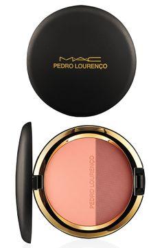 MAC Pedro Lorenço Powder Blush Corol #makeup