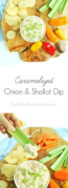 The best onion dip I've ever had - caramelized onions, shallots, and ...