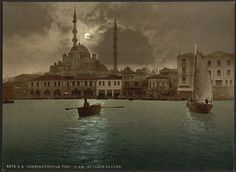 Constantinople by moonlight
