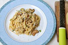 Ricetta Spaghetti con le zucchine alla Nerano