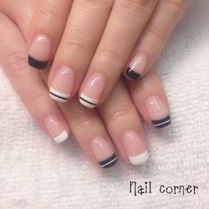 nail tips videos DIY Work Nails, Fun Nails, Pretty Nails, Shellac Nails, Nail Manicure, Acrylic Nails, French Tip Gel Nails, Nail Art Printer, Creative Nails