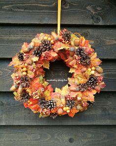Decorations, Wreaths, Fall, Home Decor, Autumn, Deco, Decoration Home, Door Wreaths, Fall Season
