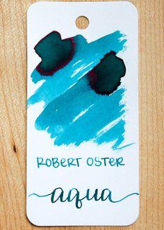 Robert Oster Aqua — Mountain of Ink