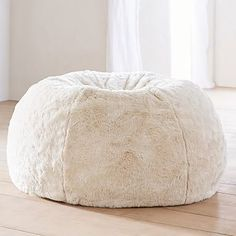 A plush slipcover makes this beanbag the softest seat in the house. Our superior-quality faux fur is as indulgent as it is beautiful. It's exceptionally woven from the finest materials for a sumptuously plush feel, and beautifully emulates the inh…
