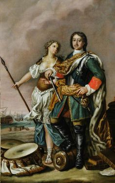 BBC - Your Paintings - Peter I 'Peter the Great', Tsar of Russia, with Minerva Hunt Costume, Duke Of Argyll, Lord Mayor Of London, John Campbell, Frederick William, Peter The Great, National Portrait Gallery, Art Uk, Dundee