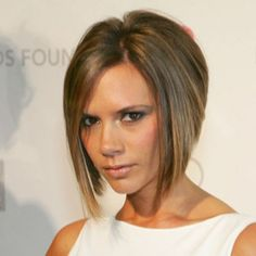 Victoria Beckham short hair - i had this hairstyle when I was in middle school living in Brazil. Got made fun of. But I loved it and I've always wanted to do it again.