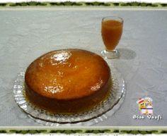 Bolo cremoso de tangerina