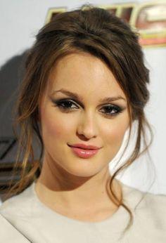 Leighton Meester #maquillaje #makeup
