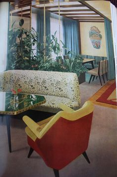 Dining & lounging - mid century decor