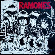The Ramones - Rocket To Russia by Niklas Coskan