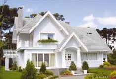 Resultado de imagem para fachada de casas americanas