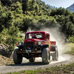Trucks are acceptable as well right? Dodge Power Wagon