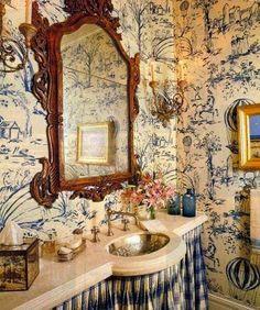 ~ pretty pretty powder rooms
