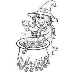 Chat Halloween, Image Halloween, Bricolage Halloween, Inktober, Coloring Books, Cartoon, Marmite, Sailor Moon, Buffet