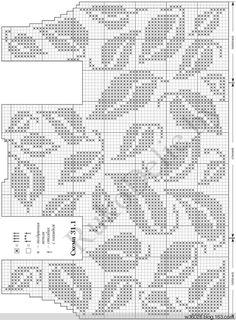 Схемы филейного вязания крючком платья. Очень красивые платья в филейной технике | Домоводство для всей семьи.