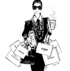 Sunday Christmas Rush Latte on the Run. Donr forget to your order? Image by Megan Hess Illustration Megan Hess Illustration, Fashion Illustration Sketches, Illustration Mode, Fashion Design Sketches, Illustrations, Kerrie Hess, Fashion Wallpaper, Fashion Wall Art, Fashion Quotes