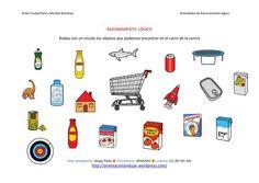 RAZONAMIENTO  LÓGICO categorizar y agrupar ficha-16-carrito de la compra