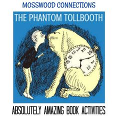 The Phantom Tollbooth Absolutely Amazing Book Activities Book Lesson Plan and Teacher Resource Reading Resources, Teacher Resources, Educational Activities, Book Activities, The Phantom Tollbooth, Book Reviews For Kids, Learning Games For Kids, Chapter Books, Kids Reading