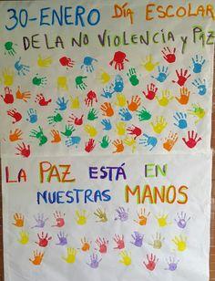 LA CLASE DE LUNA: 30 ENERO - DIA MUNDIAL DE LA PAZ Y LA NO VIOLENCIA