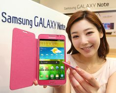 Samsung Electronics introduces pink colored Galaxy Note. Galaxy Note has been hailed by the customers as a smart mobile device of a new concept, selling more than 5 million units calculated from the supply side.    삼성전자, '갤럭시노트 핑크' 출시    삼성전자가 새로운 컬러의 갤럭 Siêu thị điện máy HC  Trung tâm điện máy giá rẻ  http://hc.com.vn/dien-tu/tivi-led.html