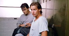 "Charlie Sheen and Emilio Estevez (in ""Men at Work 2"")"