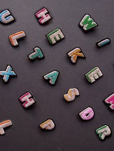 Macon & Lesquoy Embroidered Jewels - The Neo-Trad