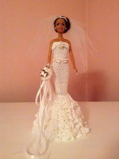 Mermaid Wedding Gown by MademoiselleMargaret on Etsy