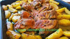 tasa's Homemade Cooking: Αρνάκι με πατάτες στο φούρνο !!!