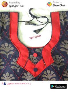 Virat Chudithar Neck Designs, Chudidhar Designs, Neck Designs For Suits, Neckline Designs, Dress Neck Designs, Salwar Neck Patterns, Salwar Neck Designs, Saree Blouse Neck Designs, Kurta Neck Design