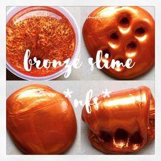 """🌺💜✨ bronze slime ✨💜🌺 *not for sale, jdi jgn tanya"""" lgi* Diy Crafts Slime, Slime Craft, Diy Slime, Metallic Slime, Glitter Slime, Pearl Slime, Types Of Slime, Sliming World, Instagram Slime"""