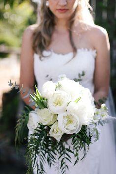 White Peony Bouquet | Justin Davis Photography