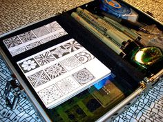 emilyhoutz: My Tangle Tool Box and Reference Cards
