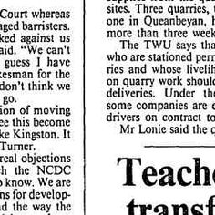 10 Apr 1985 - NCDC accused of rail-roading