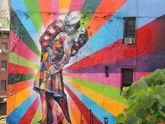 muurschildering als inspiratie voor graffiti