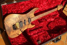Yeah, i'm thinking stained wood looks better than painted these days.  Suhr Koa (Reb Beach)