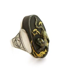 Antique Shakudo Ring | sold