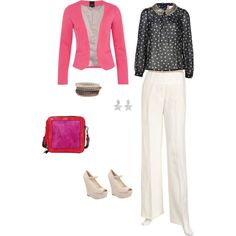 """Pink"" by karina-villagra on Polyvore"