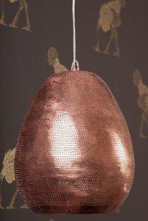 Filigree Pendant (Brass)
