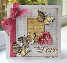 Made With Love by kath in westhill, via Flickr #cards
