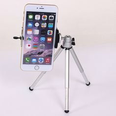 Mini Tripod For iphone 6s 7 Samsung Xiaomi Phone With Phone Clip Tripod Stand Mount Nikon for Gopro 5 4 Session Yi Camera //Price: $2.09// #electonics