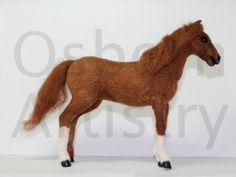 Nadel Gefilzte Pferd Skulptur