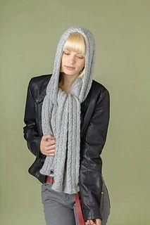 Ravelry: Hooded scarf pattern by Sarah Hatton Crochet Scarves, Knit Crochet, Winter Knitting Patterns, Hooded Scarf Pattern, Digital Pattern, Hoods, Raincoat, Bomber Jacket, Winter Jackets